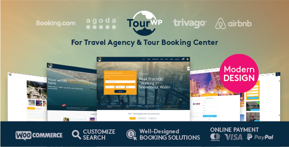 Tour Travel Booking WordPress Theme