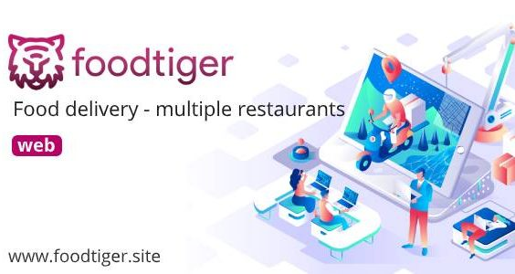 FoodTiger - Food delivery - Multiple Restaurants