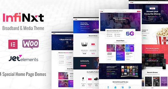 InfiNxt   Satellite TV, Internet Service Provider WordPress Theme