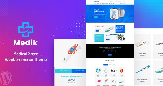Medik - Medical WooCommerce Theme