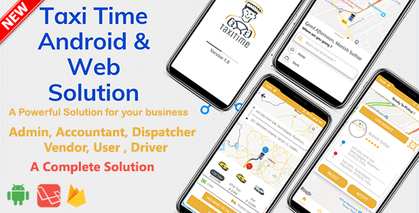 Taxi Time - Android Taxi Application Complete Solution