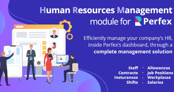 Human Resources Management - HR module for Perfex CRM
