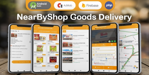 NearByShop- Customer can buy products from nearest store and get delivered in just 5 mins..
