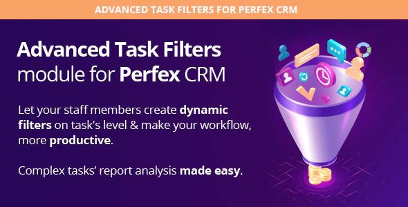 Perfex Advanced Task Filters module