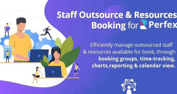 Staff Outsourcing Resources Booking for Perfex CRM
