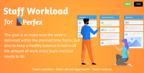 Staff Workload for Perfex CRM