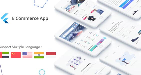 Flutter E-Commerce UI KIT Template