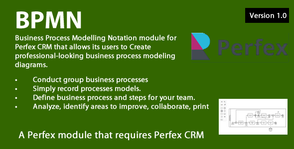 Business Process Modelling module for Perfex CRM