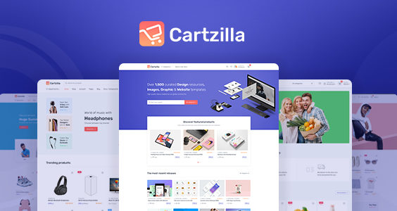 Cartzilla - Digital Marketplace & Grocery Store WordPress Theme