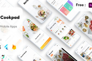 Flutter Tasty Cookpad Mobile App in Flutter