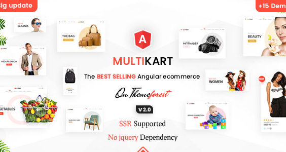 Multikart - Responsive Angular 10 eCommerce Template