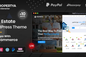 Propertya - Real Estate WordPress Theme