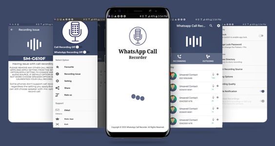 Whatsapp Auto Call Recorder with Admob Ads