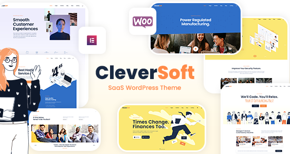 CleverSoft - SaaS WordPress Theme