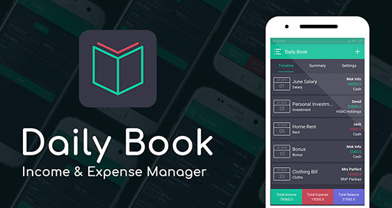 Daily Book - Income & Expense Manager