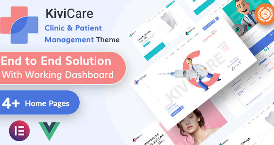 KiviCare - Medical & Clinic Management WordPressTheme