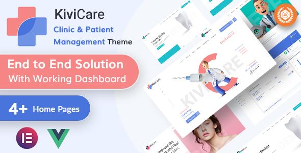 KiviCare - Medical & Clinic Management WordPressTheme
