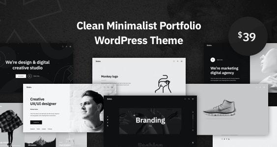 Sixten - Minimalist Portfolio WordPress Theme