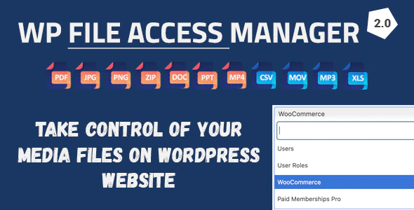 WP File Access Manager Plugin