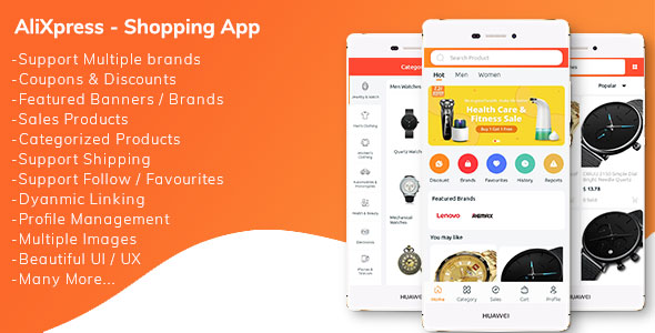 AliXpress App - Multi Vendor Shopping App