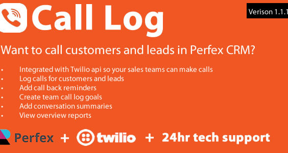 Call Log module for Perfex CRM