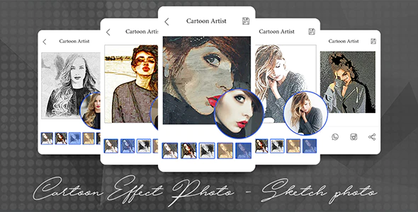 Cartoon Effect Photo Maker - Sketch Photo App