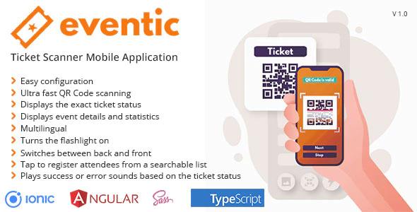 Eventic Scanner Mobile Application