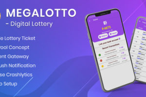 MegaLotto - Digital Lottery App