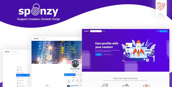 Sponzy - Support Creators Content Script