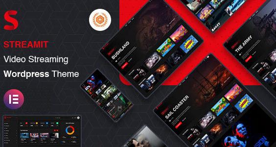 Streamit | Video Streaming WordPress Theme