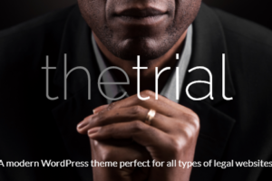 The Trial - Law WordPress Theme