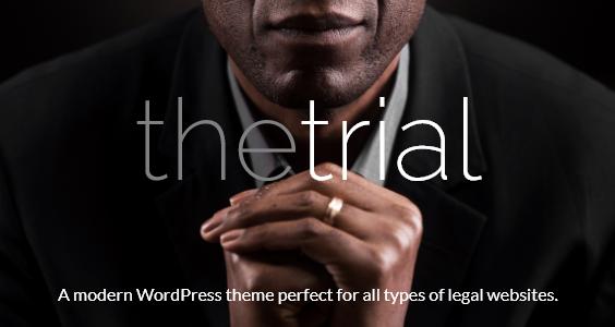 The Trial - Law WordPress Theme