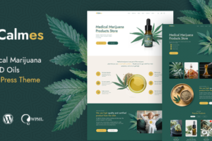 Calmes - Medical Marijuana & Coffeeshop WordPress Theme