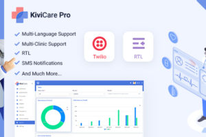 Kivicare Pro - Clinic & Patient Management System EHR (Add-on)