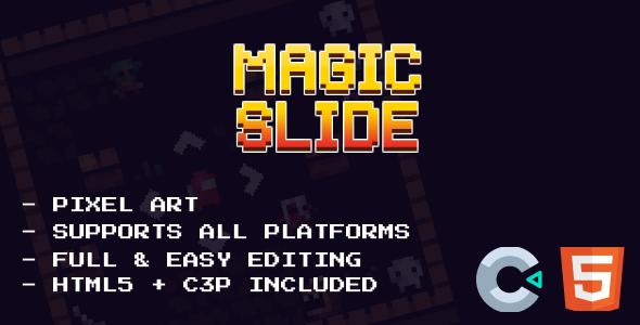 Magic Slide - HTML5 Game