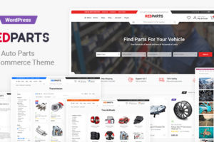 RedParts - Auto Parts WordPress Theme