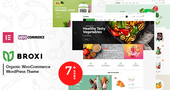 Broxi – Organic & Food WooCommerce WordPress Theme