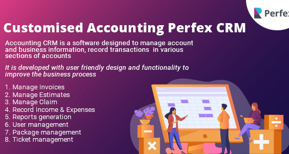 Customised Accounting Perfex CRM