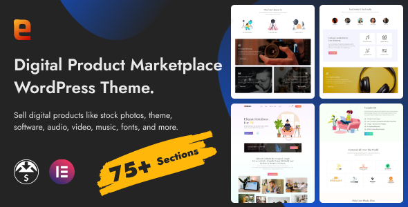 Eidmart | Digital Marketplace WordPress Theme