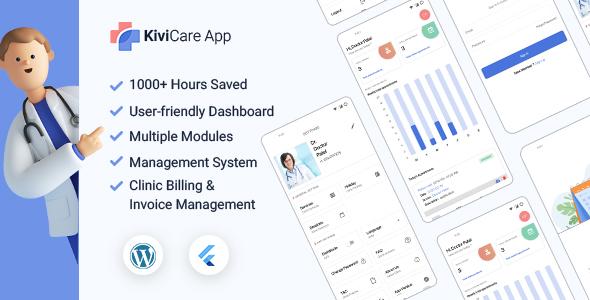 KiviCare Flutter App – Clinic & Patient Management System