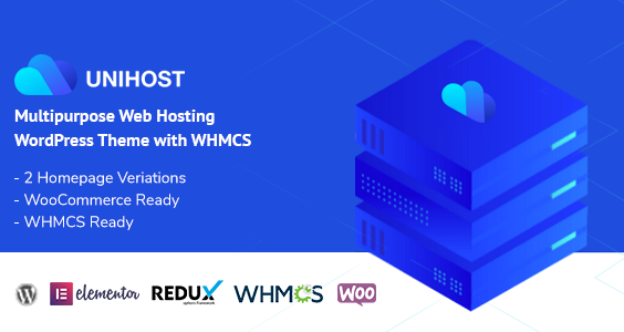 Unihost | Multipurpose Hosting WordPress Theme