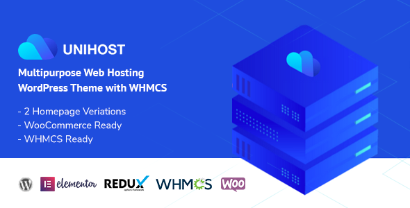 Unihost | Multipurpose Hosting WordPress Theme