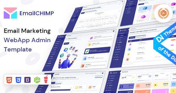 EmailChimp - VueJS, HTML Marketing Tool Admin Template
