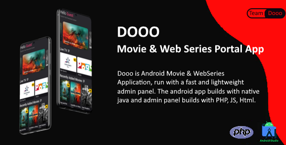 Dooo - Movie & Web Series Portal App
