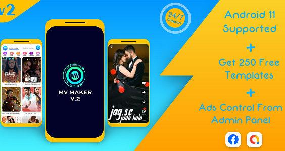 Lyrical Video Status Maker v2 - Photo to Video Maker - Whatsapp Status Saver - MV maker & MV Master