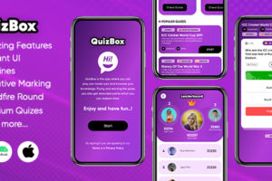 Quizbox - Online quiz application with earning system (Android/Laravel)