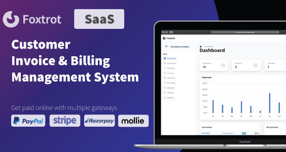 Foxtrot SaaS - Customer, Invoice and Expense Management System