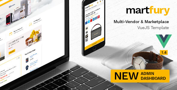 Martfury - Multipurpose Marketplace VueJS Ecommerce Template