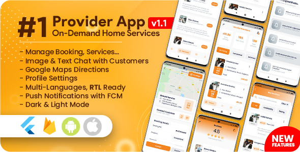 Service Provider App for On-Demand Home Services Complete Solution