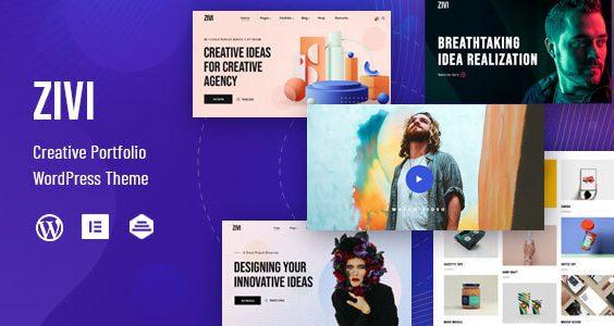 Zivi - Contemporary Creative Agency Theme
